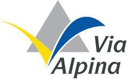 Logo Via Alpina gelb